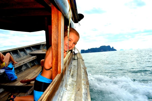 And off we went (Koh Hong in the distance)