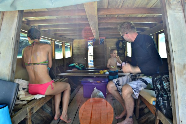 Lunch on the boat and heading out to Phang Nga Bay