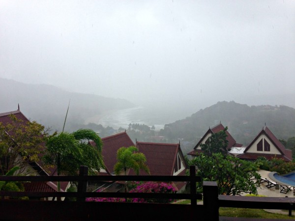 Storm over Kantiang Bay