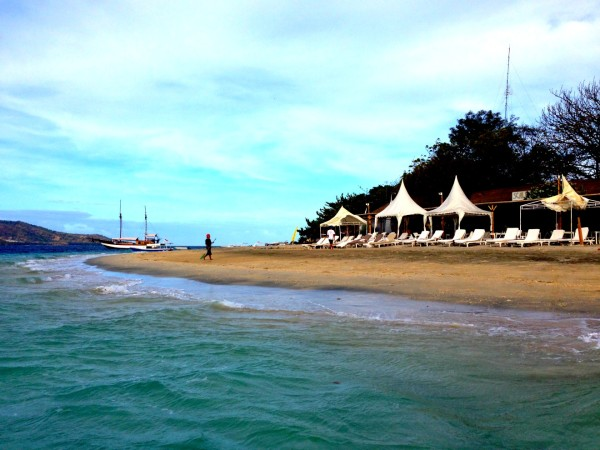 Beach in front of Chill Out Bar & Restaurant