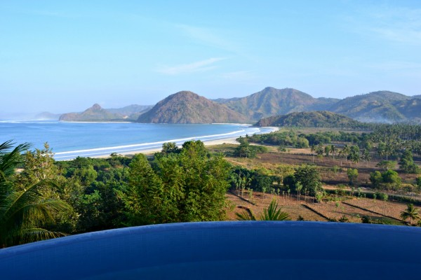 View from Villa Atas