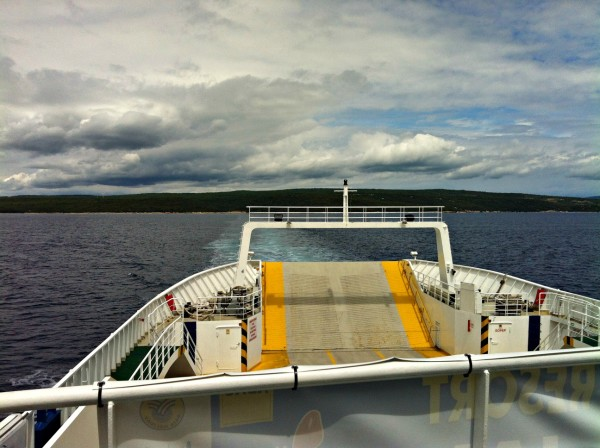 Ferry to Cres Island