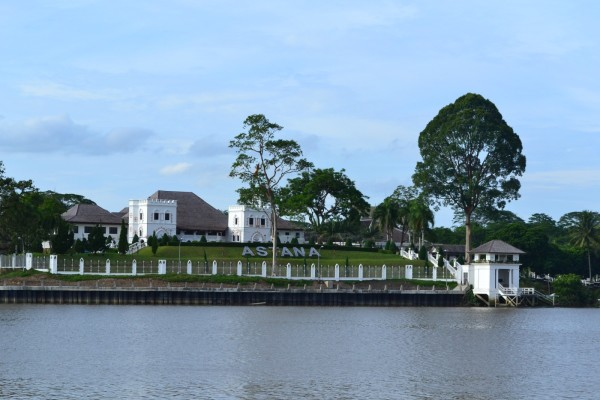 The Astana, residence of the Governor of Sarawak