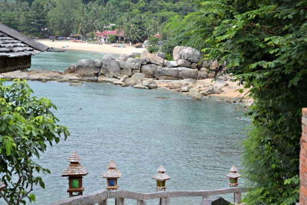 Thong Nai Pan Noi Beach view