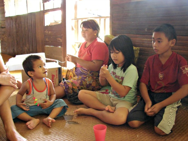 Longhouse kids