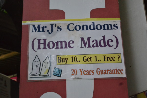 Oh, that Mr. J and his condoms. Koh Tao