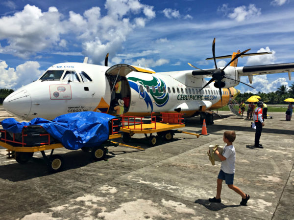 Siargao Airport, one flight in/out per day
