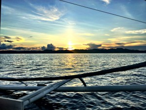 Boat trip around Siargao Island