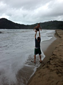 Fun at the beach, Kantiang Bay, Koh Lanta
