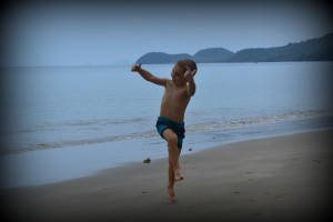 Goofing around, Koh Jum