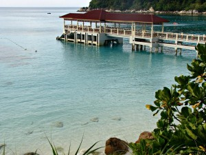 Jetty at the Perhentian Island Resort