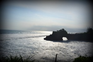Shore near Tanah Lot