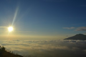 View from Mt Batur
