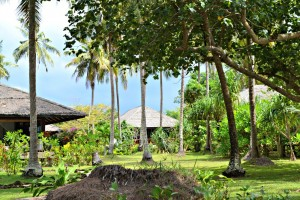 View frrom the beach, Koh Jum Beach Villas