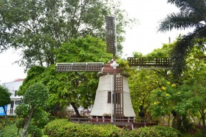 Windmill at Dutch Square, Melaka